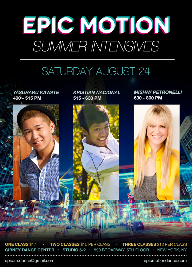 2013_Summer_Intensives_poster